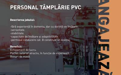 Personal producție tâmplărie PVC