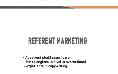 Angajam Referent Marketing