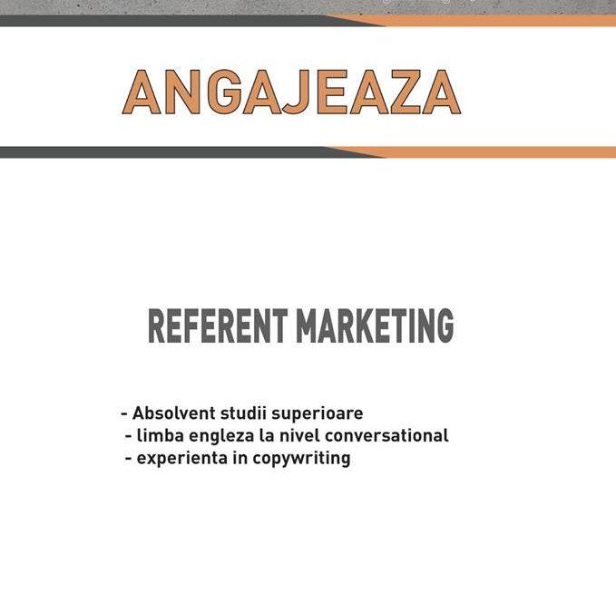 Angajam Referent Marketing